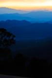 Голубые горы Стоковое Изображение RF