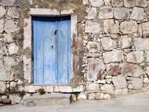 голубые двери Стоковые Изображения RF