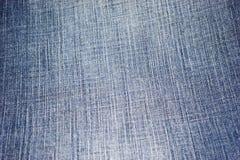 голубые джинсыы ткани Стоковое Изображение RF