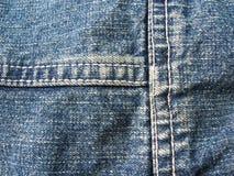 голубые джинсы предпосылки Стоковые Фотографии RF