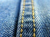 голубые джинсы Стоковое Изображение RF