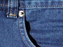 голубые джинсы Стоковое фото RF