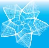 голубые звезды Стоковое фото RF