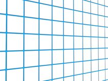 голубые измерительные линии Стоковое Изображение