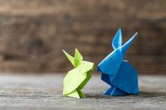Голубые и зеленые зайчики весеннего времени Стоковые Изображения RF