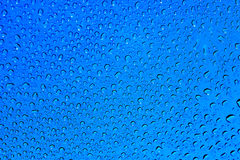голубые капельки Стоковые Фото