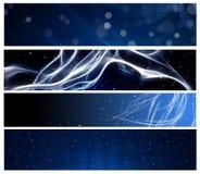 Голубые коллектор и сноска сети иллюстрация штока