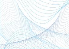голубые кривые Стоковое Фото