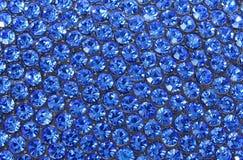 голубые кристаллы стоковое изображение rf