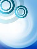 голубые круги Стоковое Фото