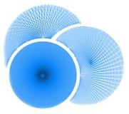 голубые круги бесплатная иллюстрация