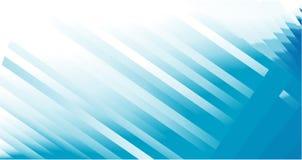 голубые линии визитной карточки Стоковые Изображения RF