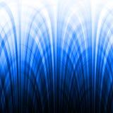 голубые линии градиента влияния Стоковая Фотография