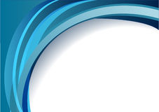 голубые линии иллюстрация штока