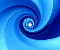 голубые лоснистые обои Стоковая Фотография