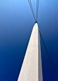 голубые небеса штендера белые Стоковые Фото