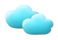 голубые облака Стоковые Фото