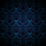голубые обои Стоковое фото RF