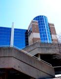 голубые окна Стоковое Изображение RF