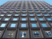 голубые окна Стоковое Фото