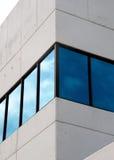 голубые окна Стоковые Фото