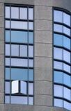 голубые окна стоковые изображения rf