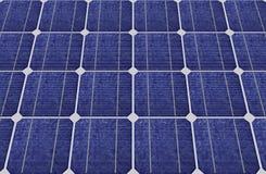 голубые панели клеток солнечные Стоковое фото RF