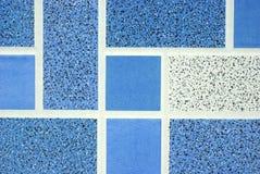 голубые плитки Стоковые Фотографии RF