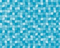 голубые плитки Стоковое Изображение