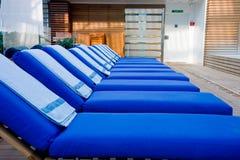 голубые полотенца фаэтонов Стоковое Изображение RF