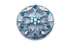голубые привесные камни стоковое изображение