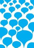 голубые пузыри Стоковая Фотография
