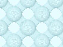 голубые пузыри Иллюстрация штока