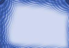 голубые пульсации граници иллюстрация штока