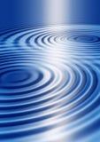 голубые пульсации Стоковое Изображение RF