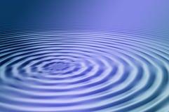 голубые пульсации Стоковая Фотография