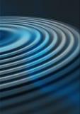 голубые пульсации Стоковое фото RF