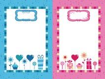 голубые рамки party пинк бесплатная иллюстрация