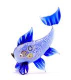 голубые рыбы немногая Стоковое Изображение