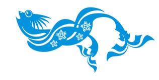 голубые рыбы Стоковое Изображение