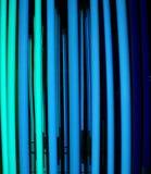 голубые света Стоковые Фотографии RF