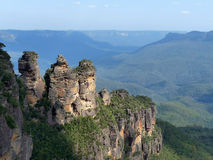 голубые сестры 3 гор Стоковое фото RF