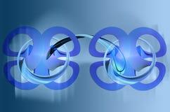 голубые соединения бесплатная иллюстрация