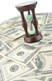 голубые стеклянного доллары тона песка Стоковые Фото