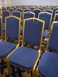 Голубые стулы Стоковые Изображения