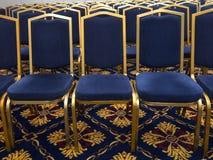 Голубые стулы Стоковая Фотография