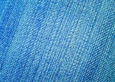 голубые темные джинсыы ткани Стоковое фото RF