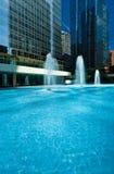 голубые тени Стоковое фото RF