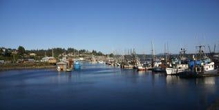 голубые траулеры рыболовства Стоковые Изображения