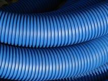 голубые трубы Стоковые Изображения